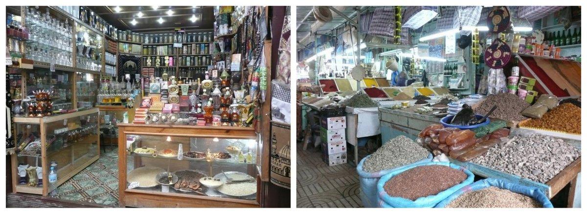Le meilleur endroit pour trouver de l'huile d'argan: les souks du Maroc (photo Emily Zanier)