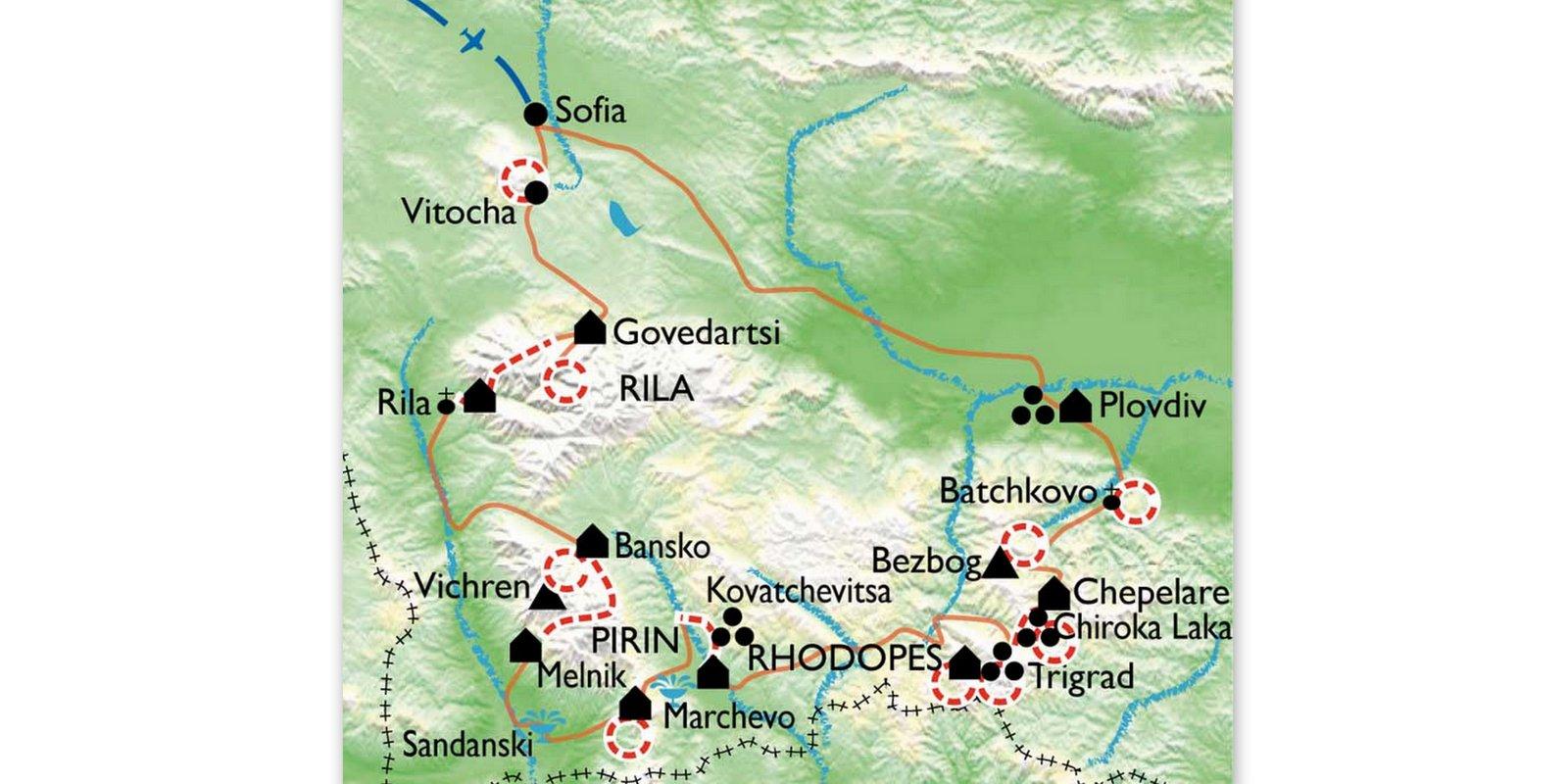 bulgarie-randonne-carte
