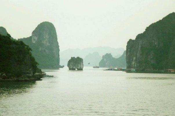 La baie d'Along au Vietnam