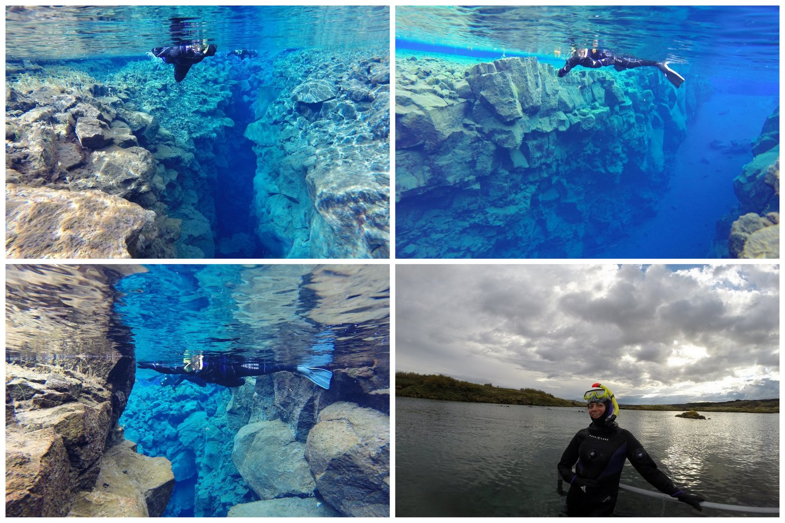 Snorkeling à Silfra en Islande. crédit photo: Adventure Vikings