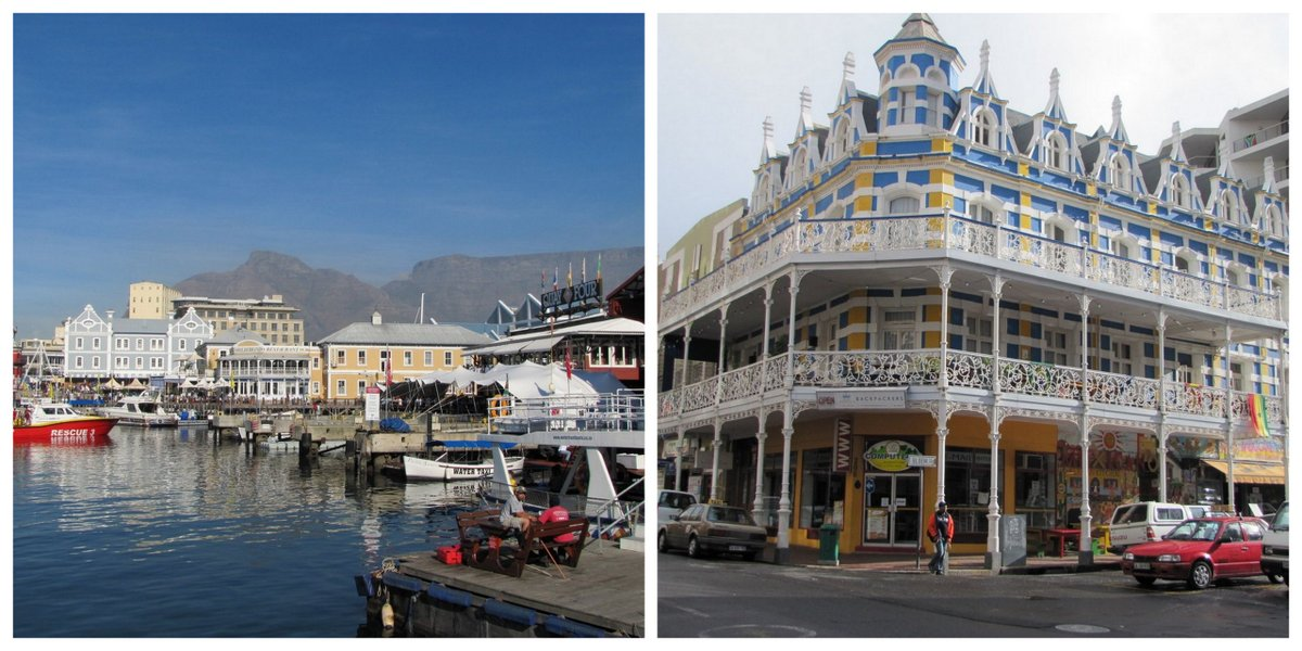 A visiter à Cape Town: le Waterfront et Long Street