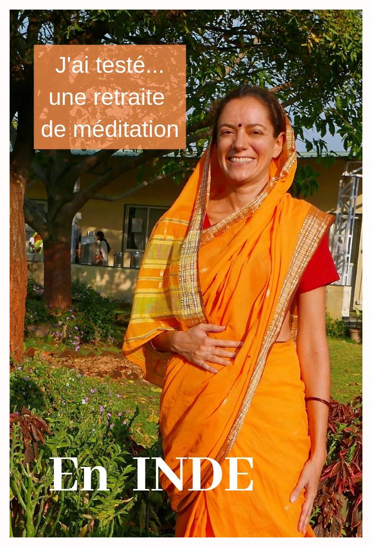 Retraite de méditation en Inde: récit et retour d'expérience. 10 jours sans parler, dans le silence.