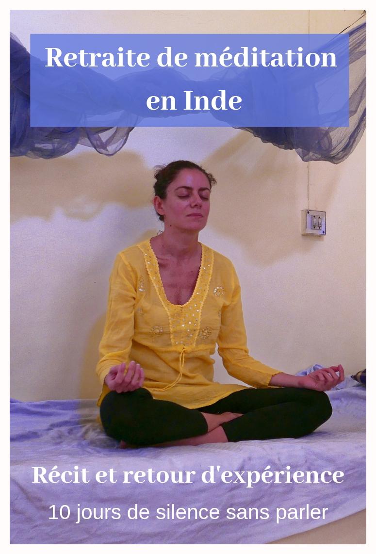 Dix jours de retraite de méditation Vipassana en Inde: en seriez-vous capable?