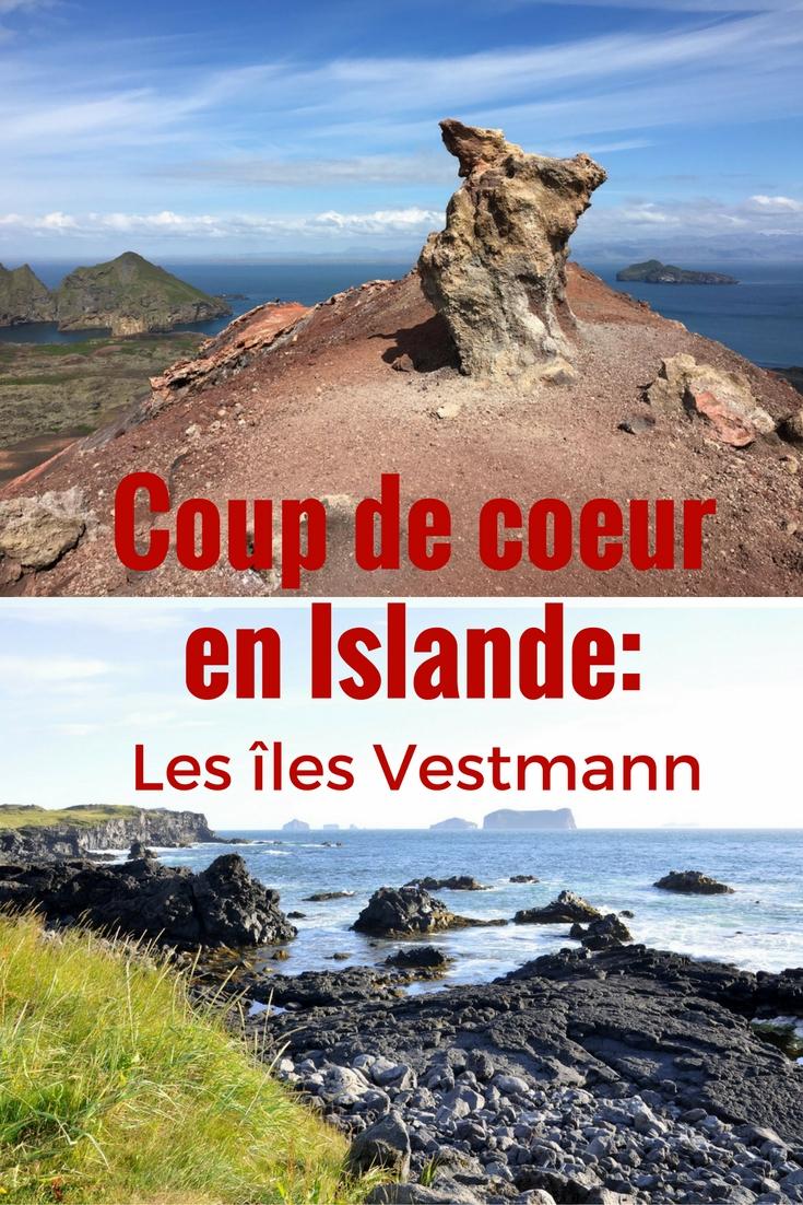 A découvrir lors d'un voyage en Islande: les îles Vestmann, avec randonnées, volcans et macareux