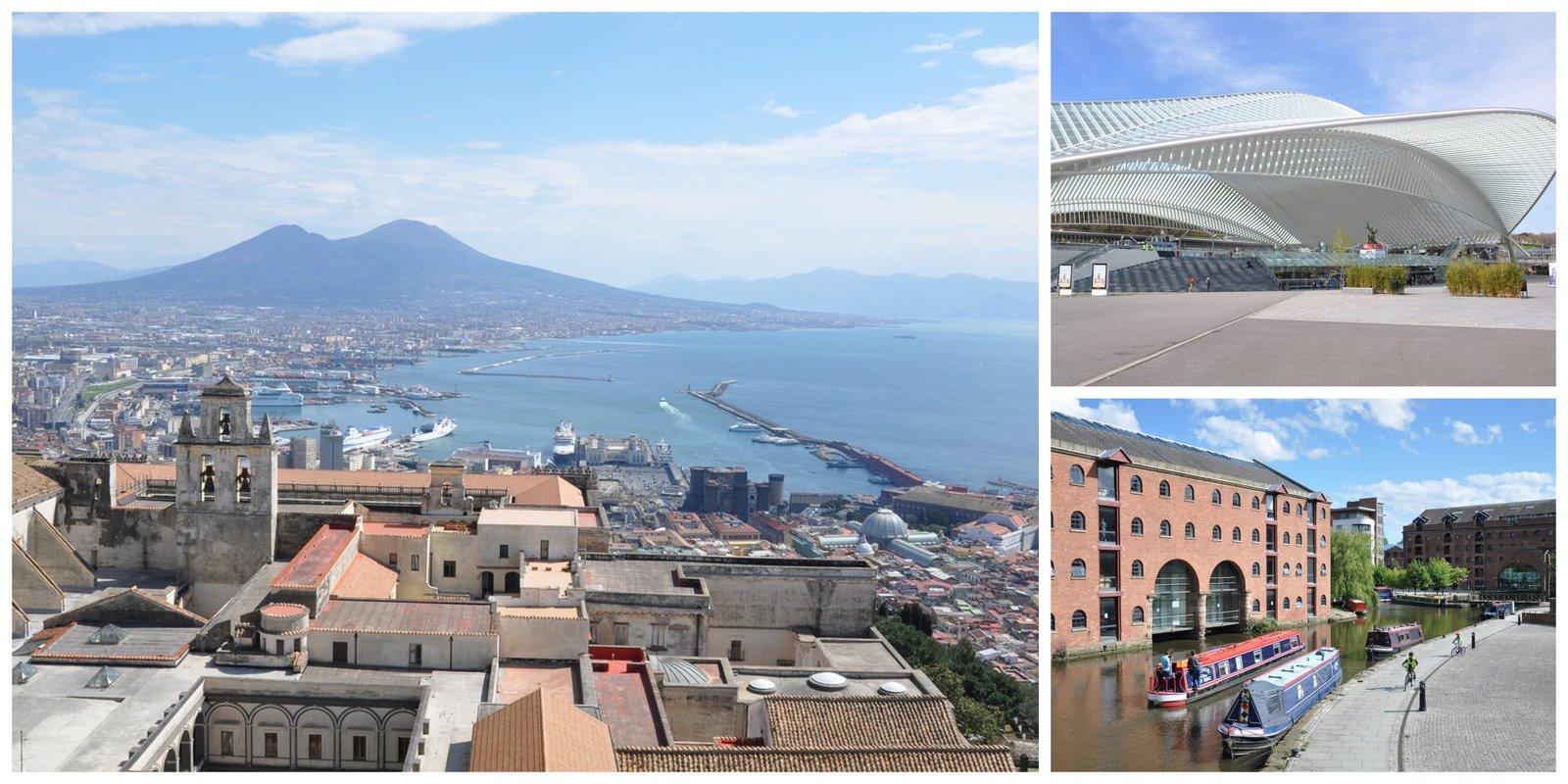 Naples, Liège et Manchester: trois destinations à découvrir!