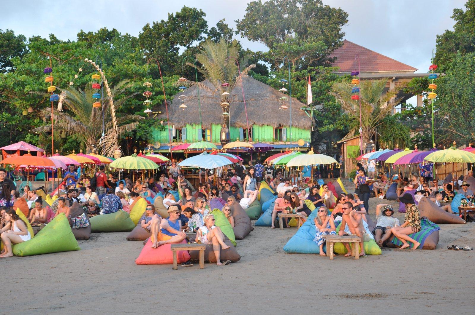 La Plancha sur la plage de Seminyak à Bali