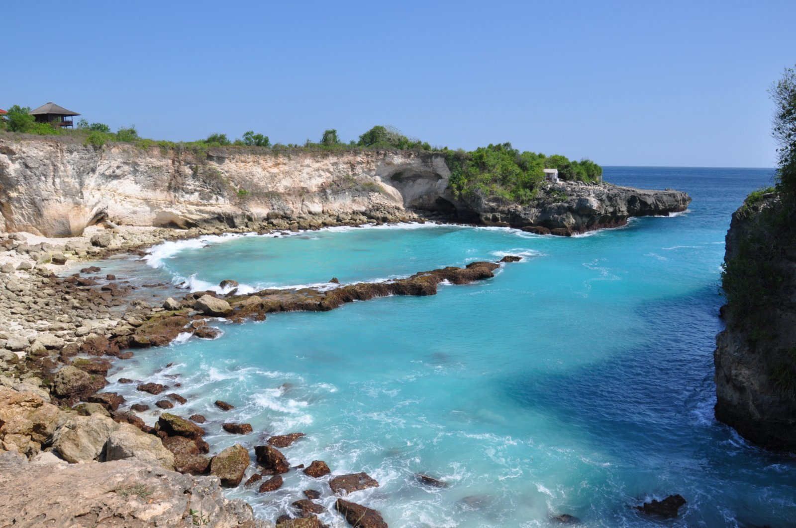 Le Blue Lagoon sur Nusa Ceningan
