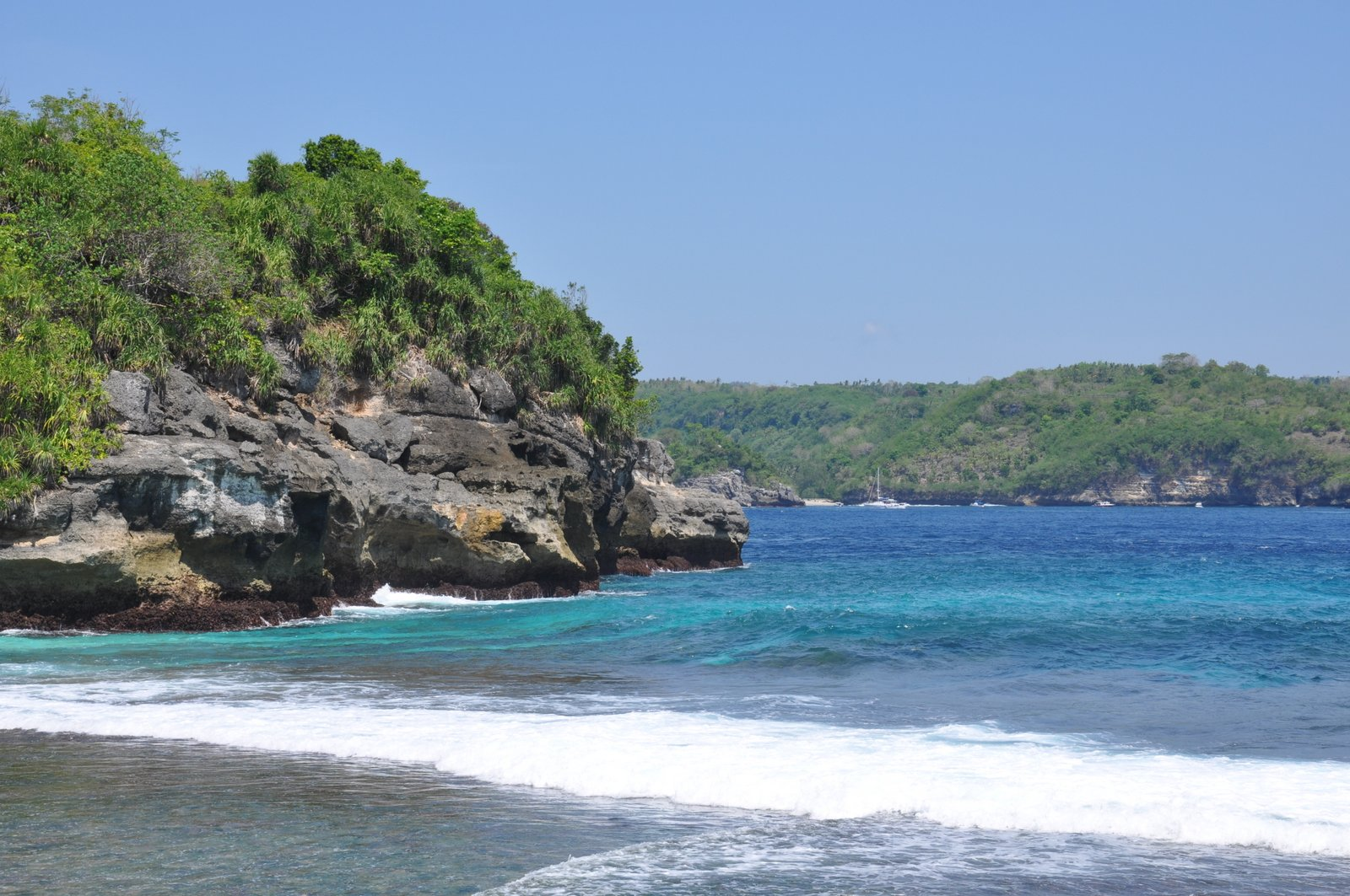 Secret Beach sur Nusa Ceningan