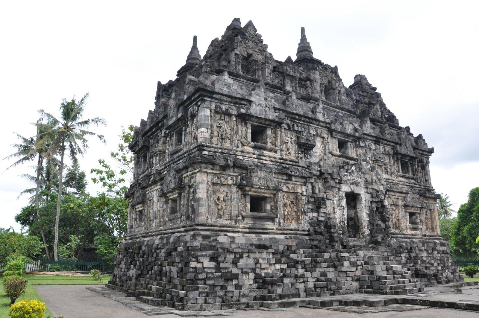 Le temple de Sari près de Jogjakarta en Indonésie