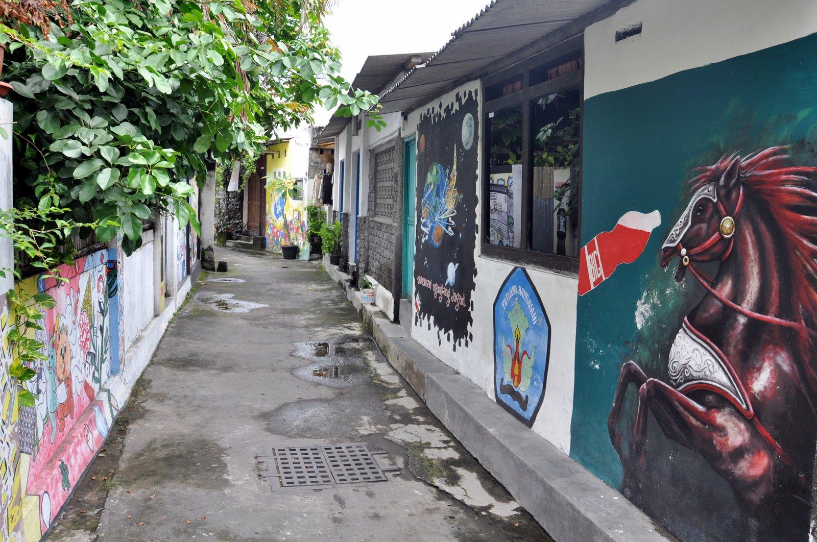 visiter-yogyakarta-street-art-taman-sari
