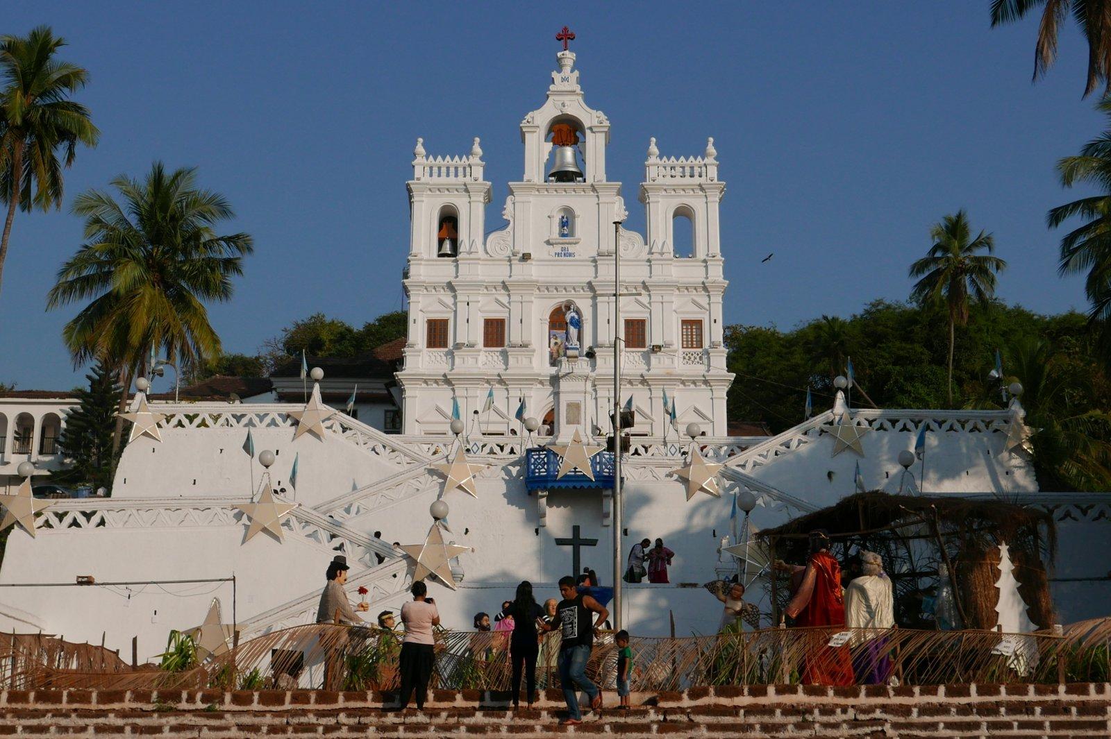 L'église Notre-Dame de l'Immaculée Conception à Paniji