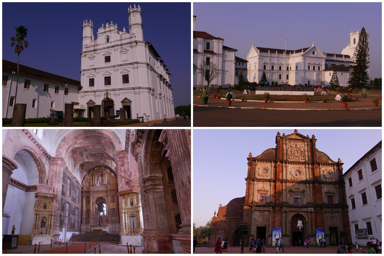 Les églises de Old Goa