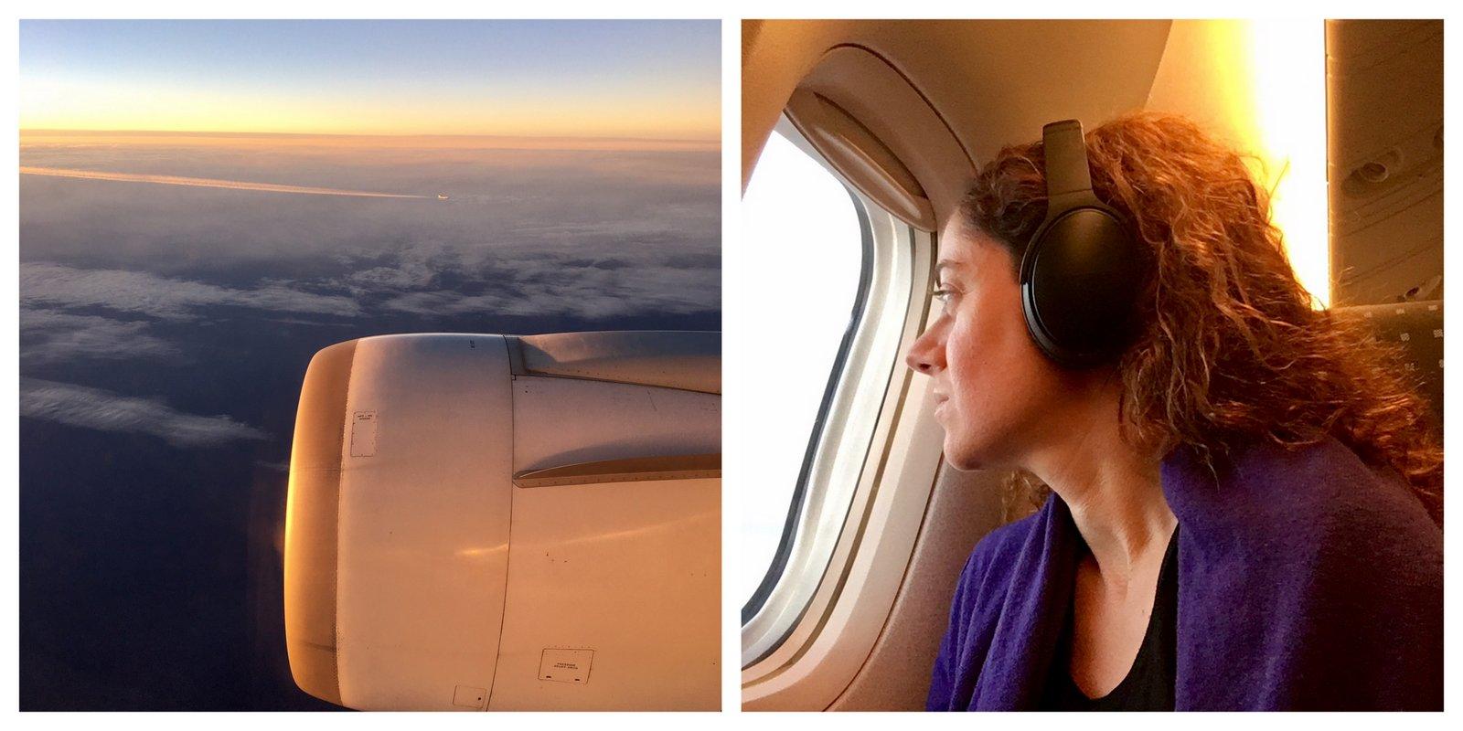 Paris-Tokyo en avion et en musique!