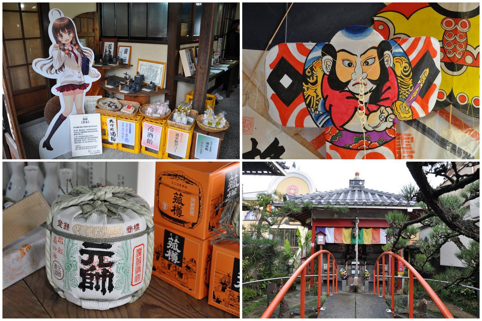 Manga, saké, cerf-volants et temples... à Kurayoshi