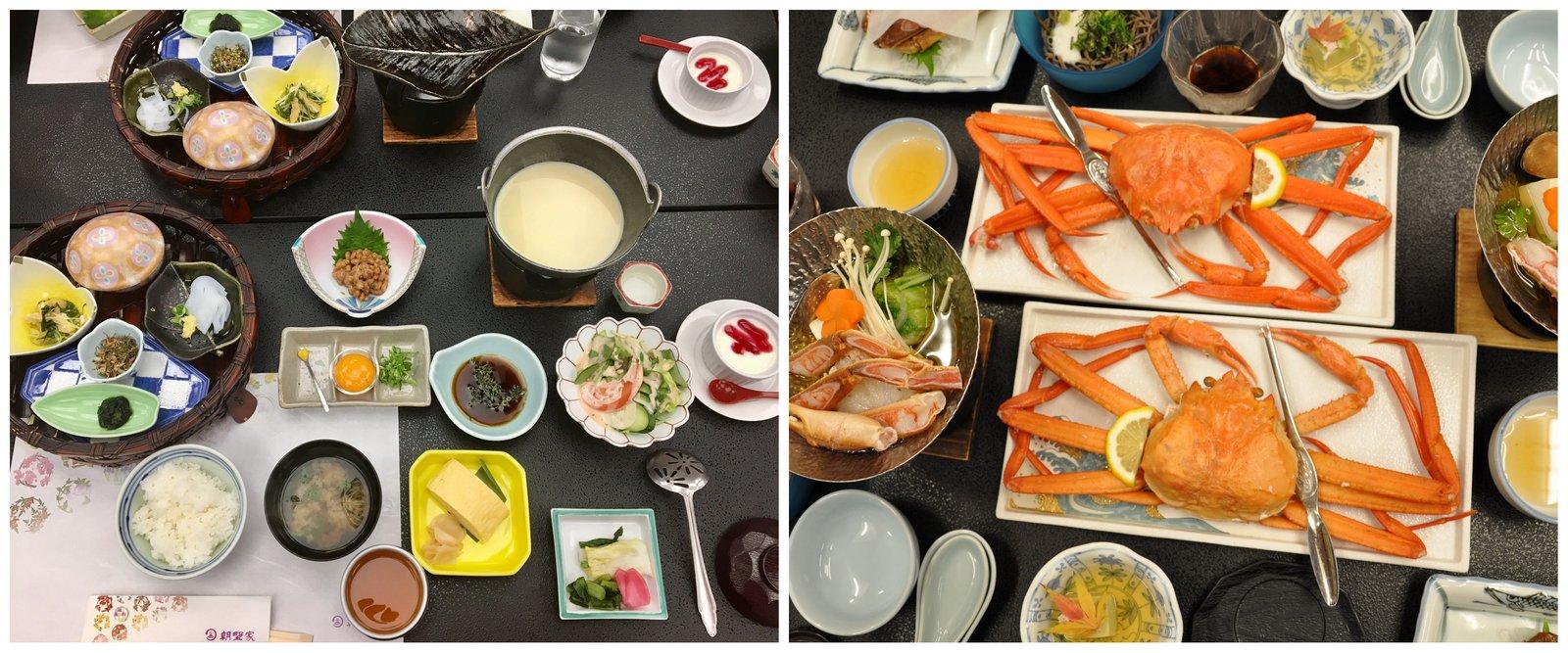 Cuisine kaiseki au Japon