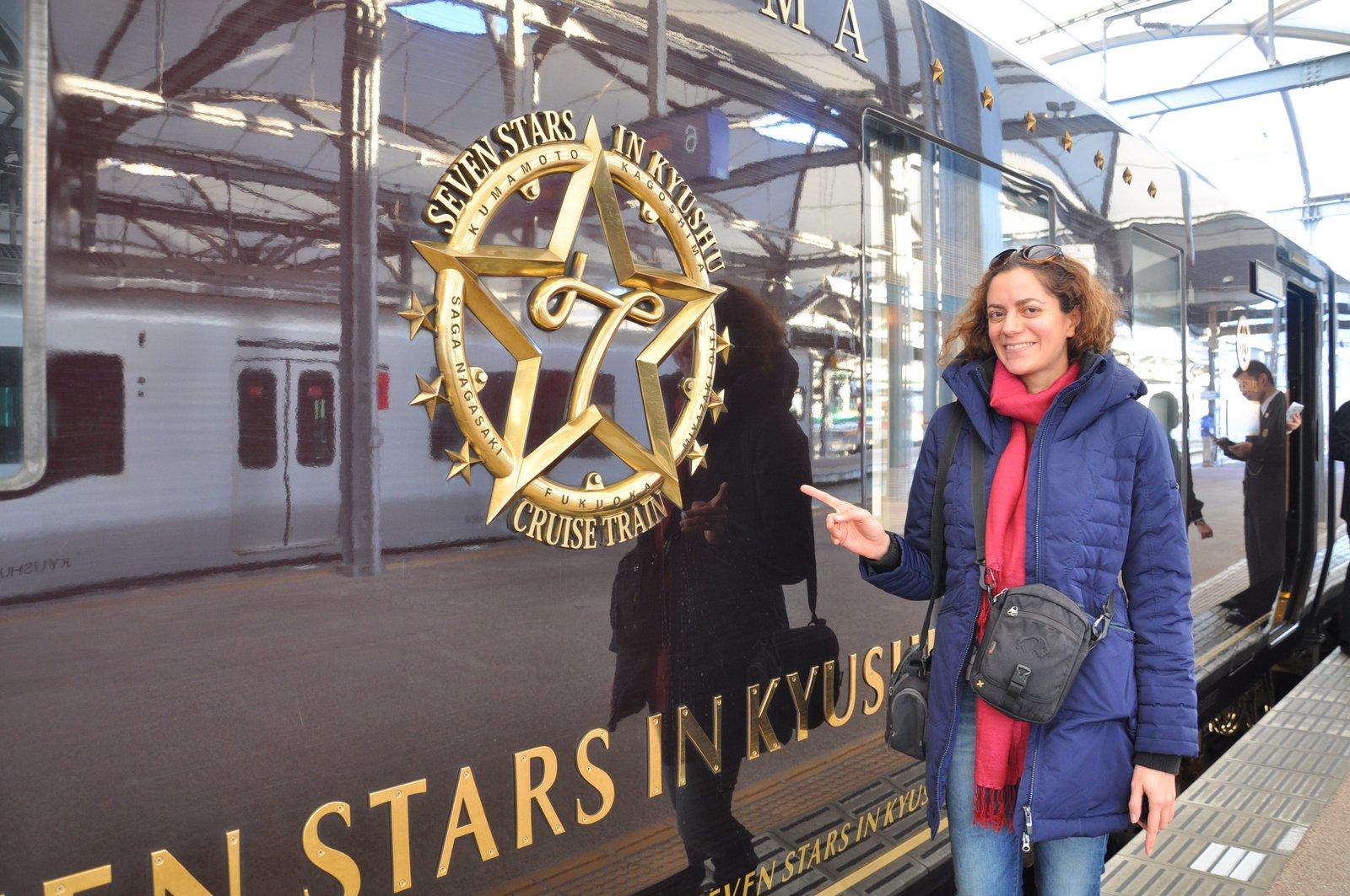 Voyage à bord du train Seven Stars au Japon