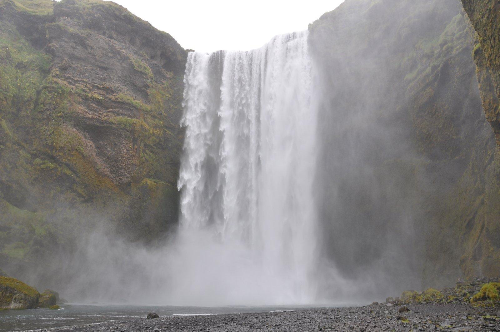 Skogafoss-cascade-islande