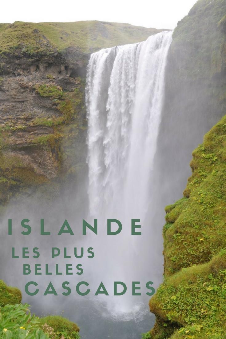 Les plus belles cascades à voir en Islande