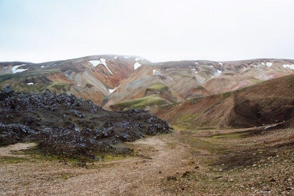 Le site du Landmannalaugar en Islande
