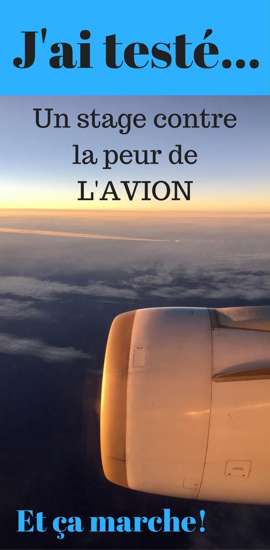La phobie de l'avion n'est pas insurmontable...