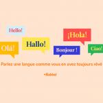 Apprendre une langue étrangère en ligne avec Babbel