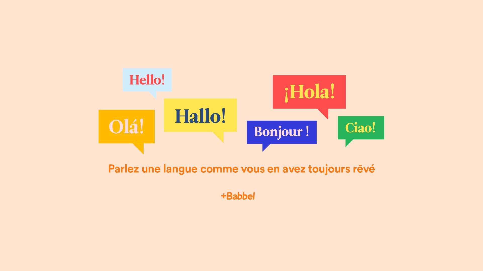 apprendre une langue  u00e9trang u00e8re en ligne avec babbel