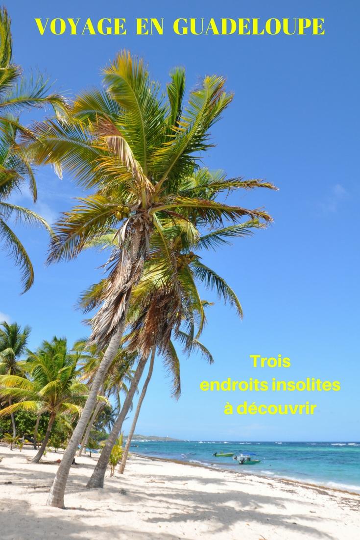 Trois idées pour organiser un voyage en Guadeloupe