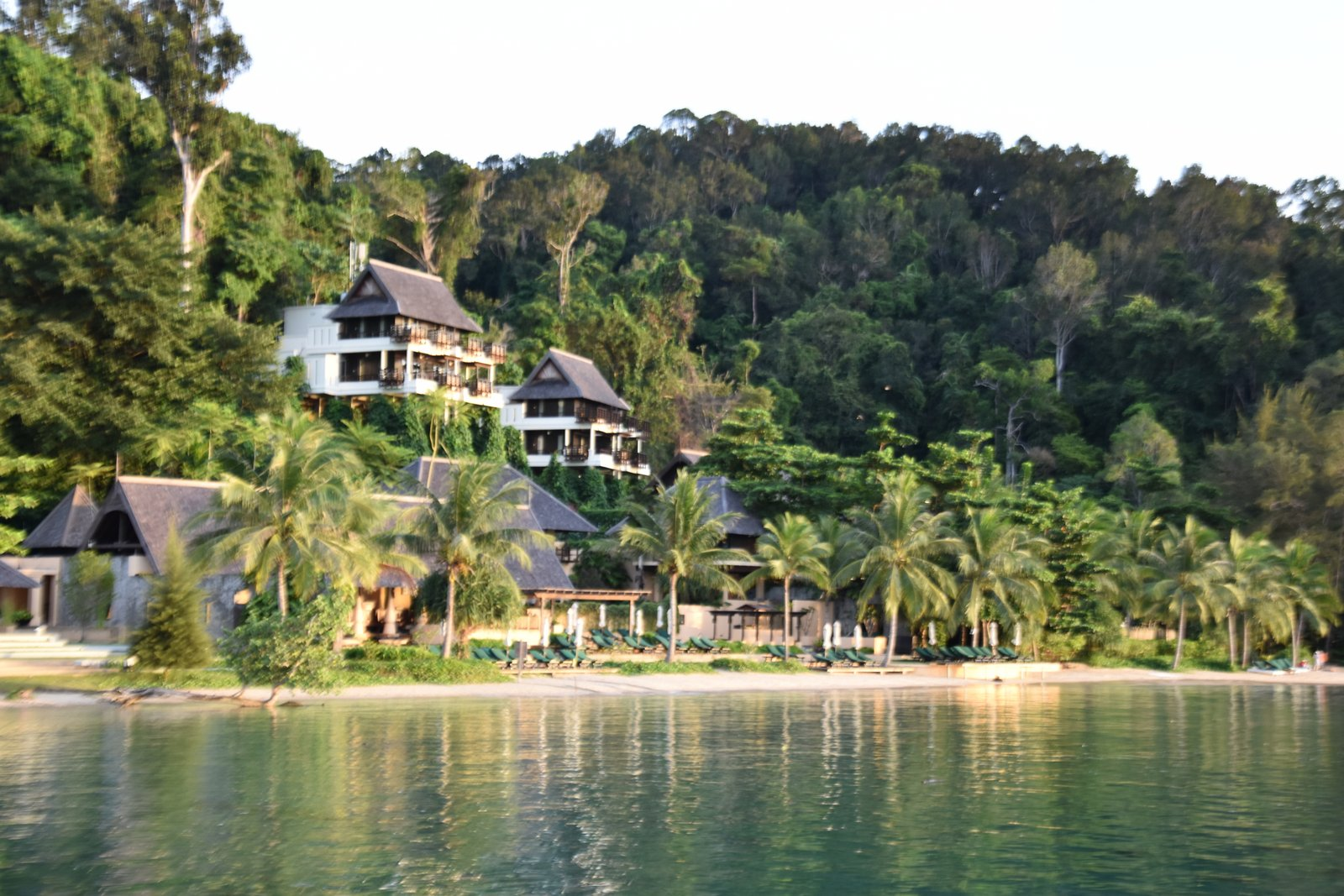 Gaya island resort sur l'île de Gaya en face de Kota Kinabalu