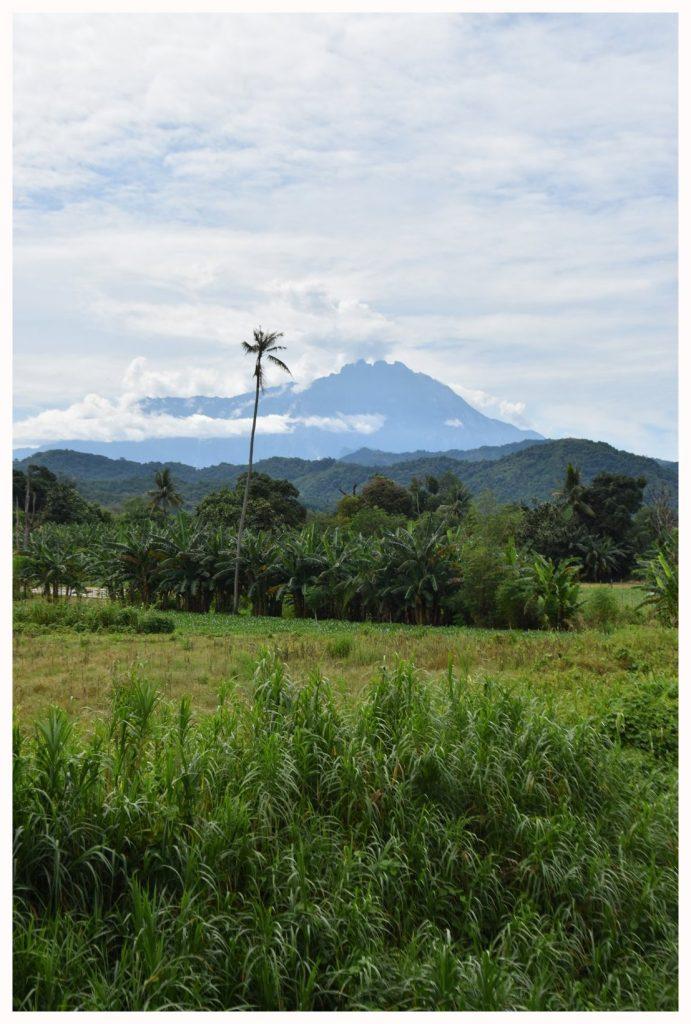 Le mont Kinabalu à Bornéo en Malaisie