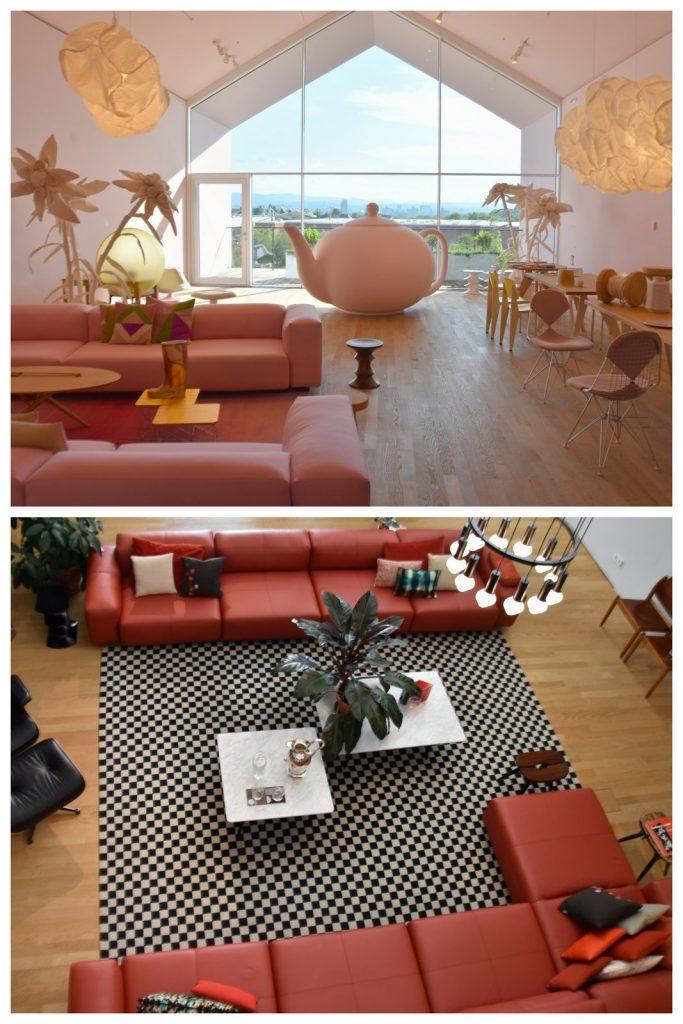 Super idées de décoration à la Vitra Haus à Bâle