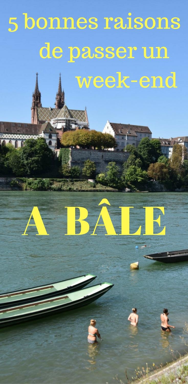 Art, architecture, baignade dans le Rhin... Toutes les bonnes raisons de découvrir Bäle
