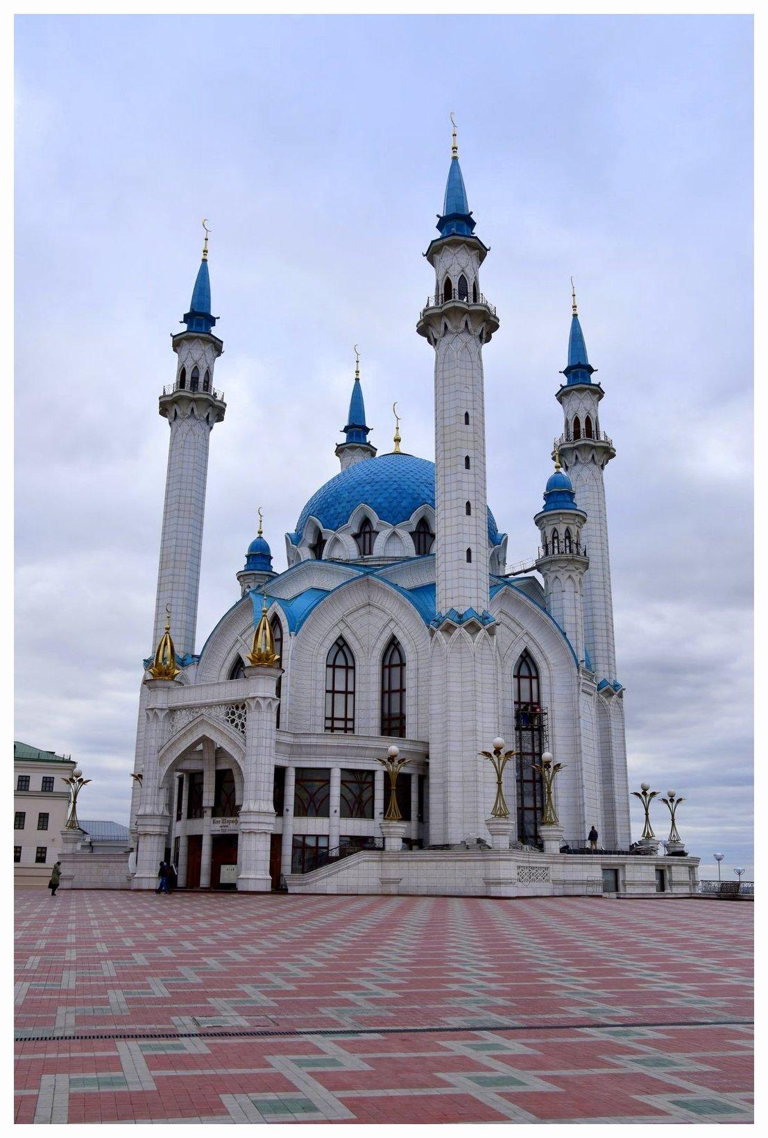 Kazan, un incontournable à voir en Russie, avec sa grande mosquée