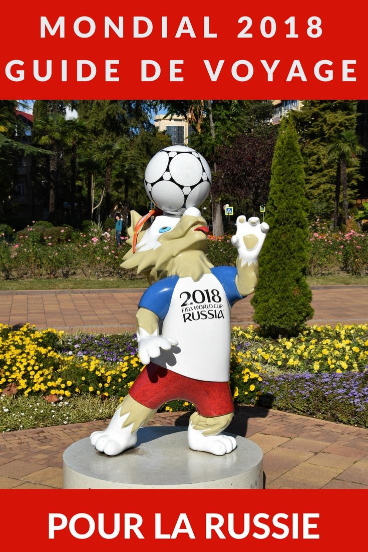 Voyager en Russie pour assister à la Coupe du monde de football