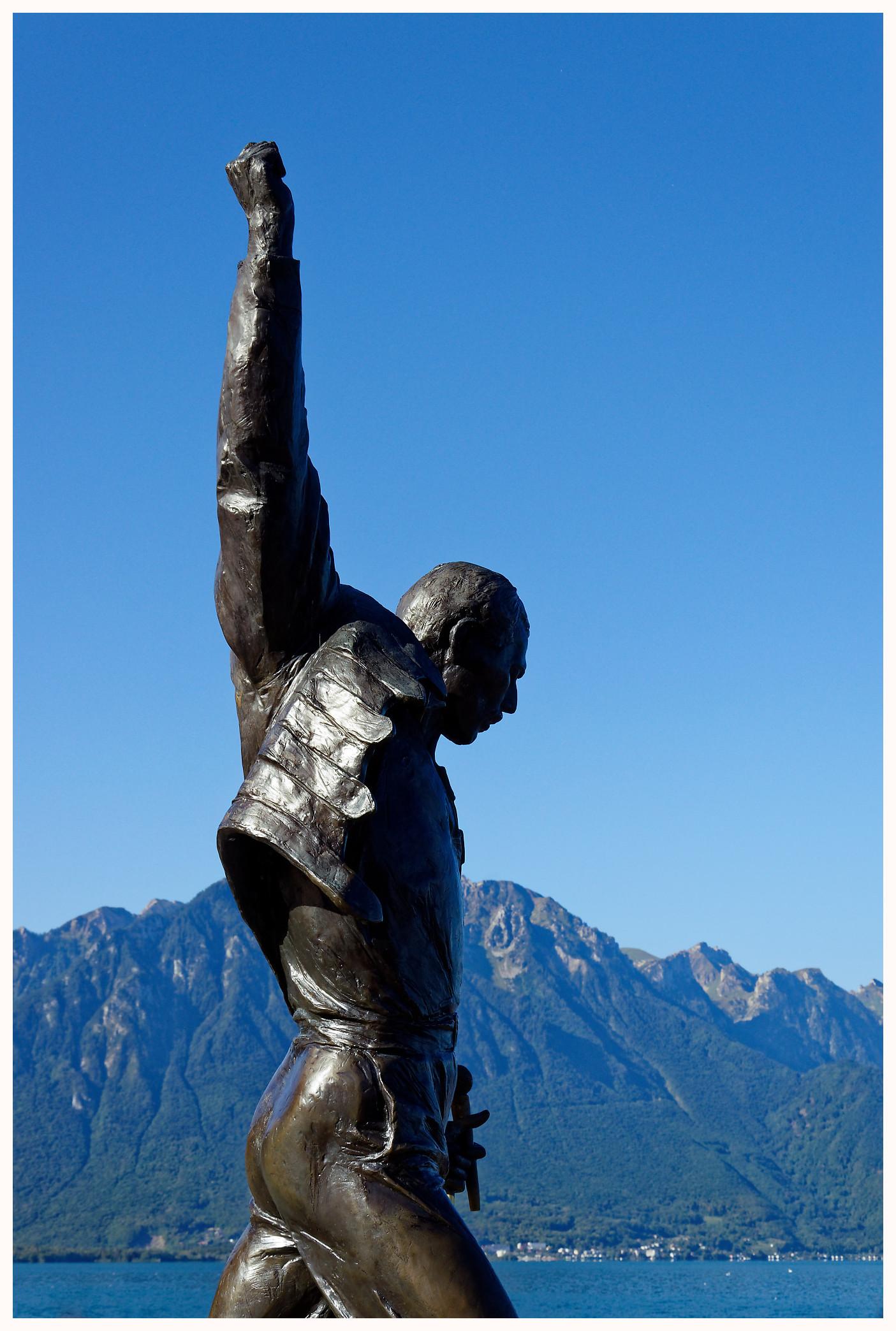 Hommage à Freddie Mercury à Montreux
