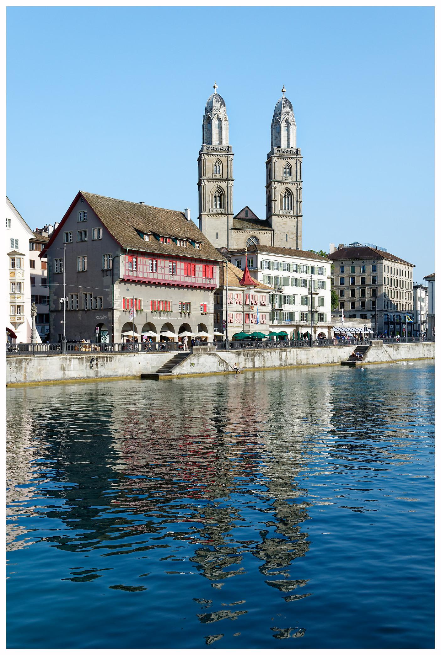 La cathédrâle de Zurich
