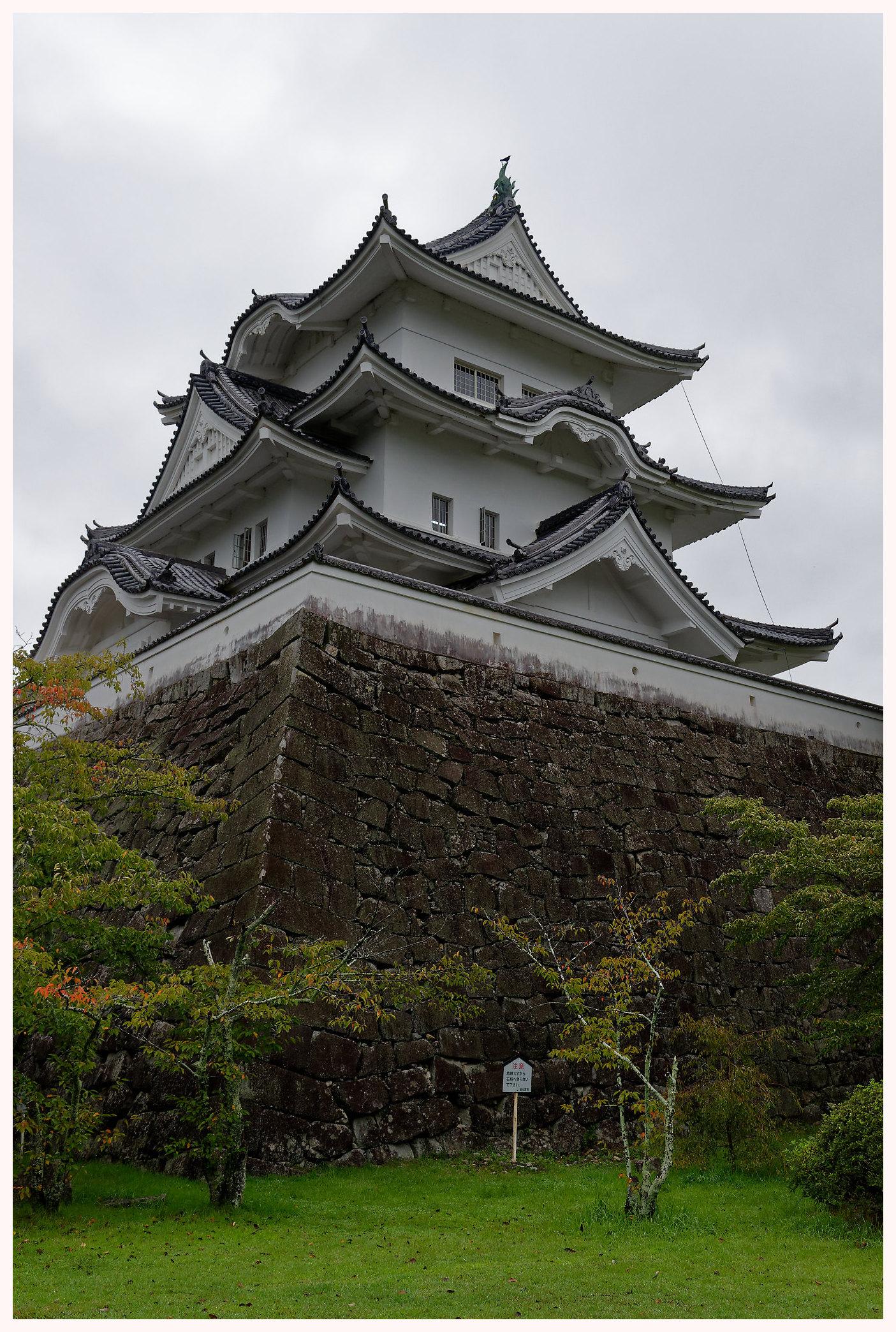 Le chateau d'Iga à Mie
