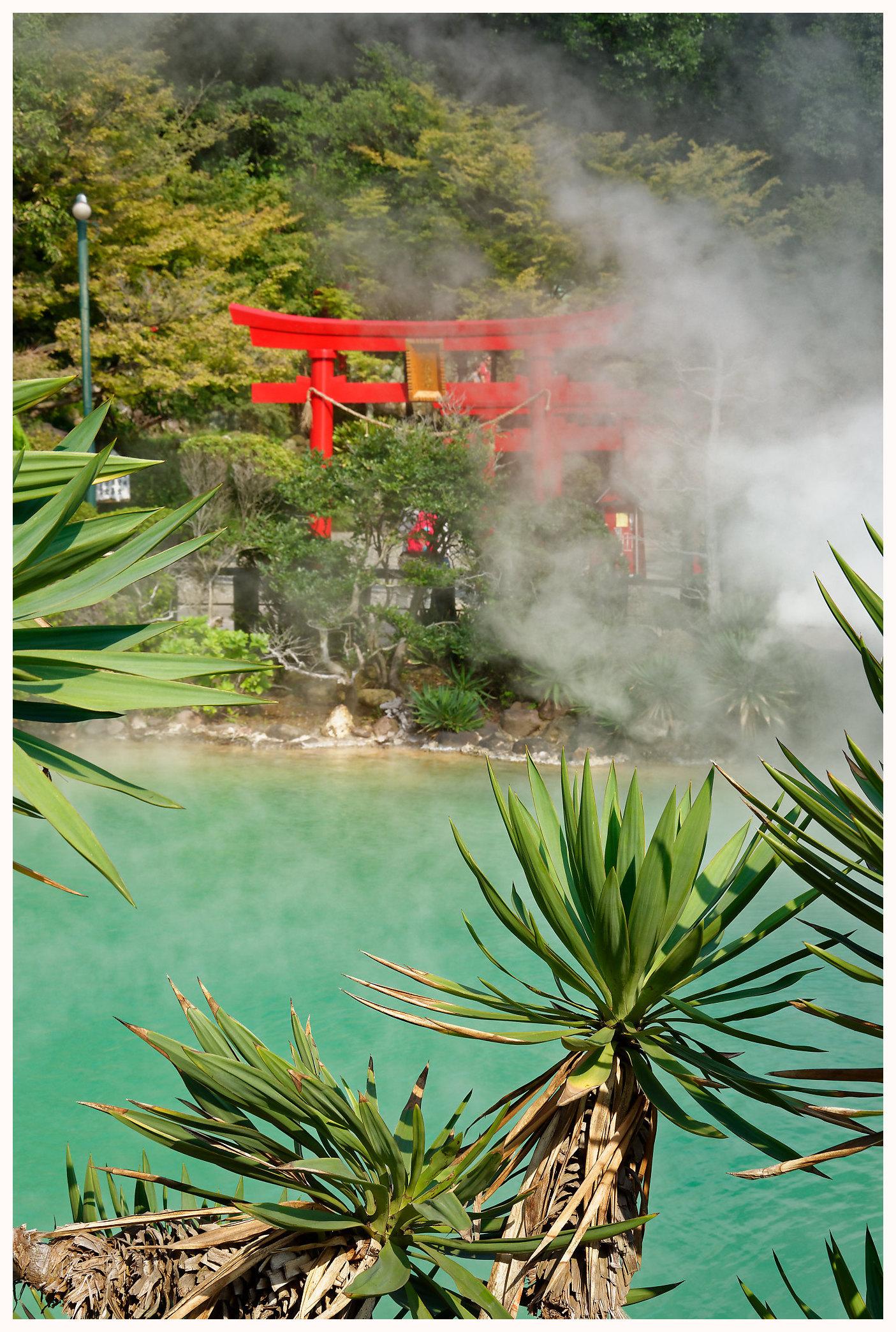 Spectaculaire source volcanique à Beppu - Que voir à Oita au Japon