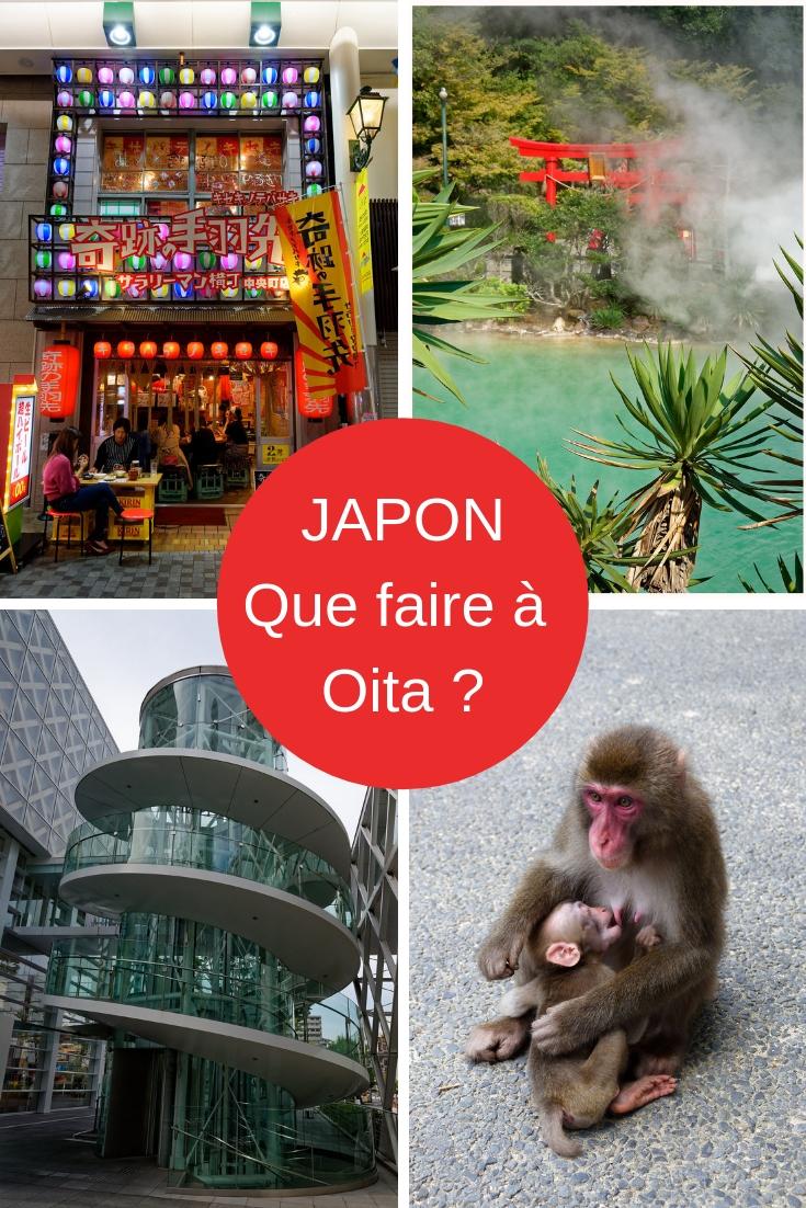 Que faire à Oita, sur l'île de Kysuhu au Japon