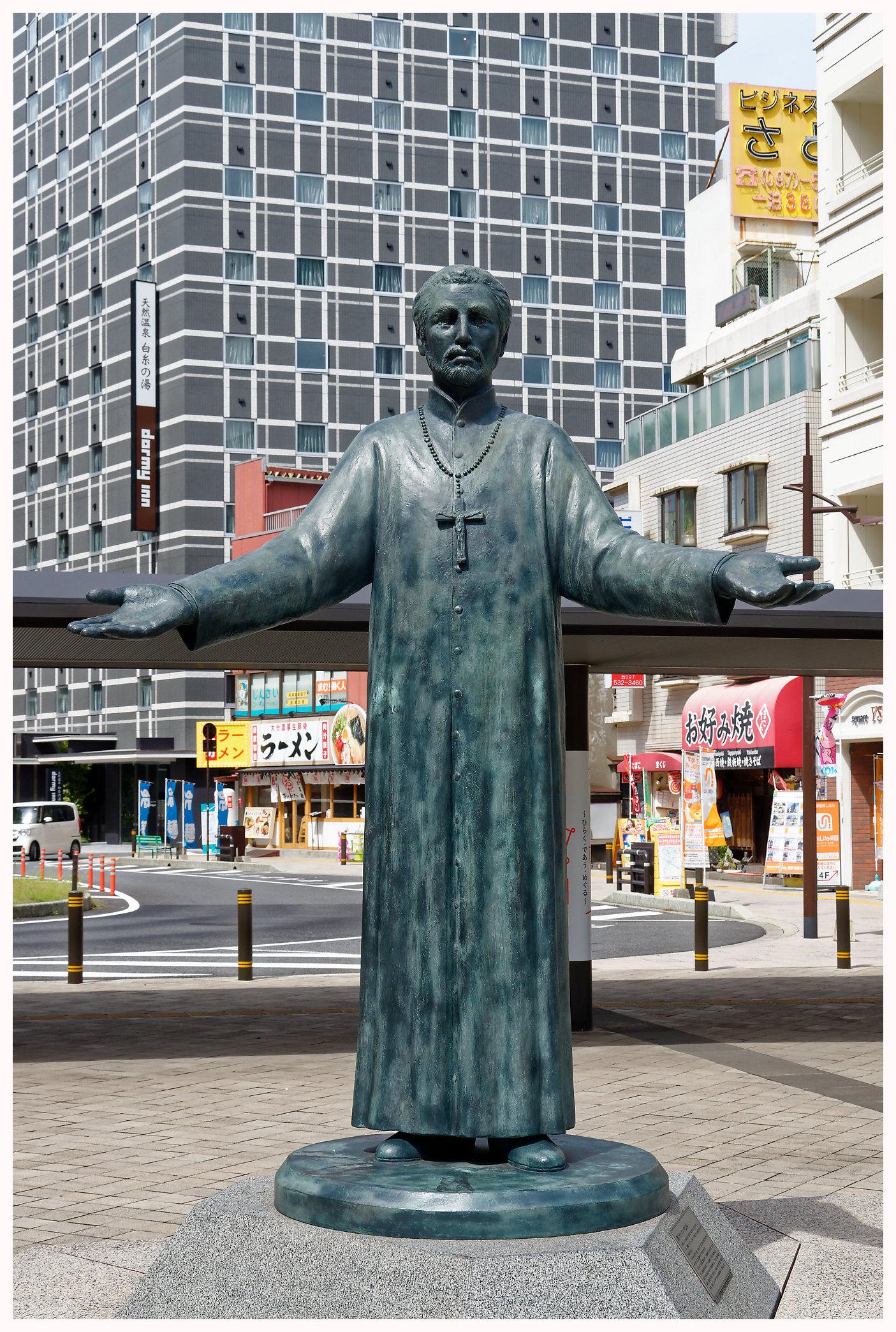 La statue de Saint-François-Xavier