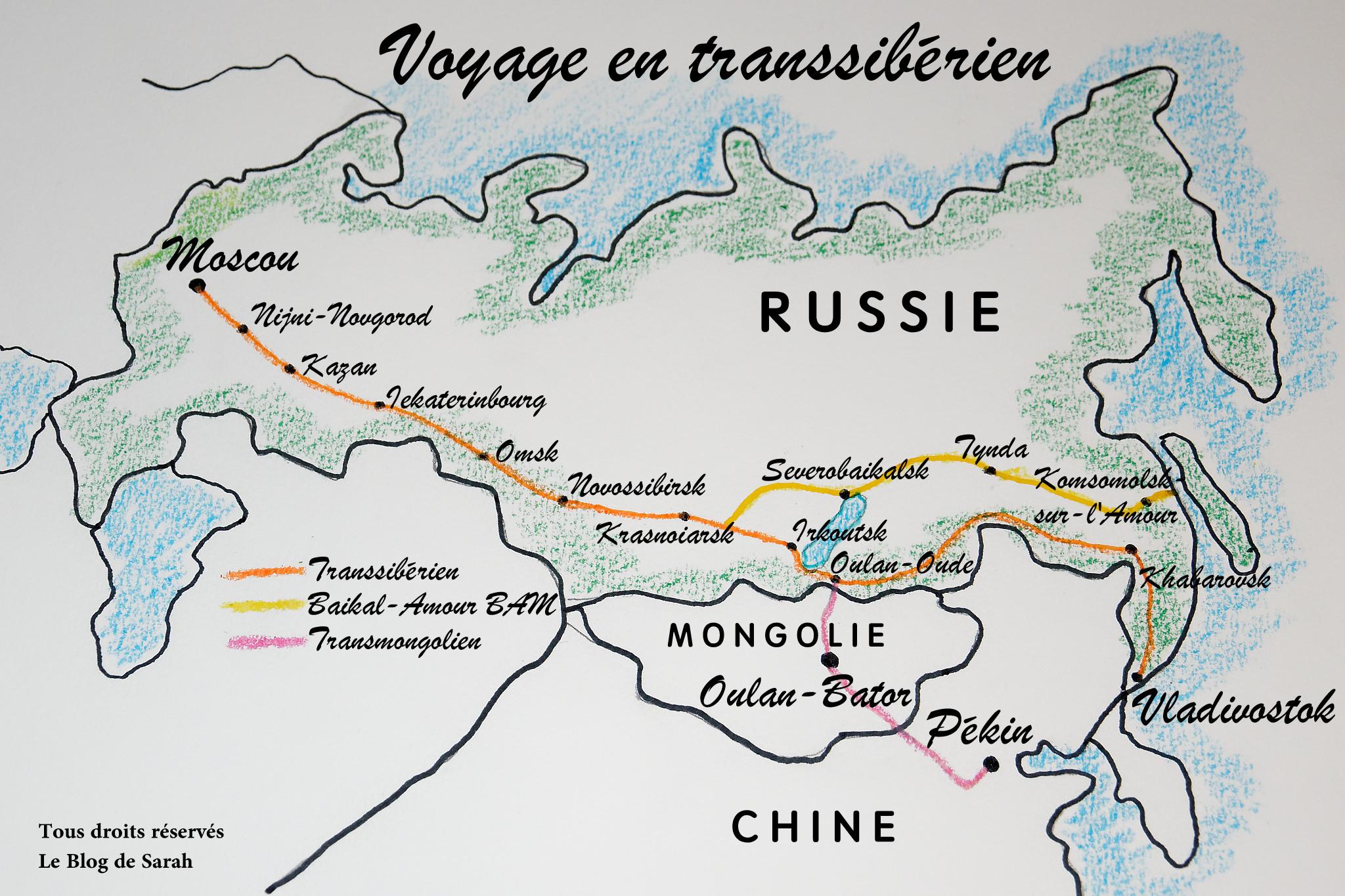 Voyage en transsibérien: le guide complet