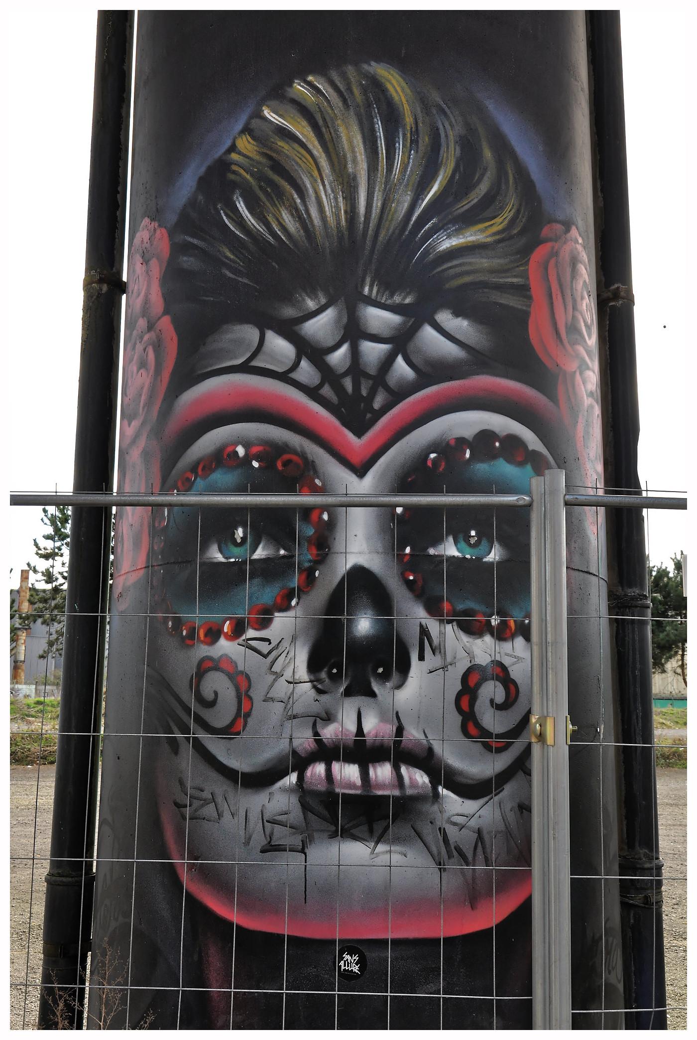 """Street-art à Charleroi, la """"ville la plus laide du monde""""..."""