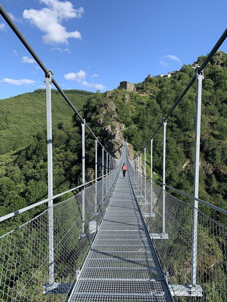 La passerelle himalayenne de Mazamet dans le Tarn