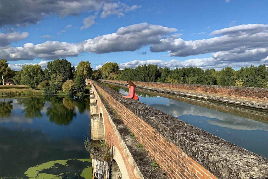Pont Canal du Cacor à Moissac