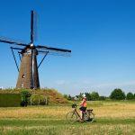 Voyage à vélo aux Pays-Bas d'Amsterdam jusqu'à Maastricht